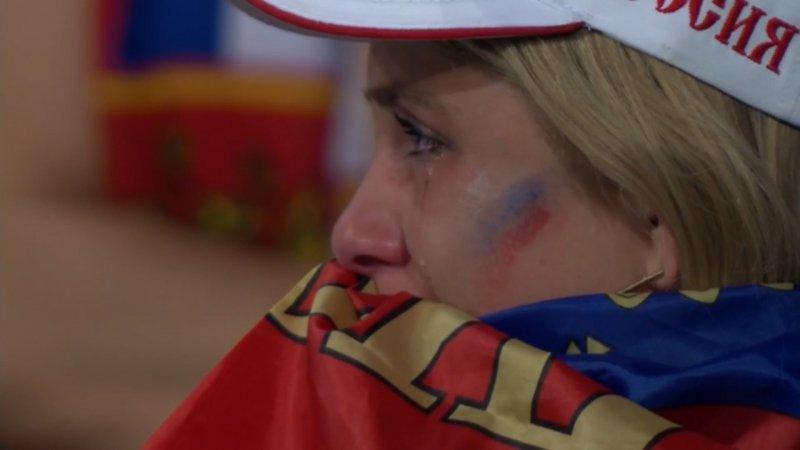 واکنش بازیکنان و هواداران پس از دیدار روسیه - کرواسی