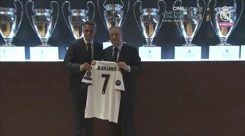 ماریانو درباره پوشیدن شماره هفت رئال مادرید صحبت کرد.