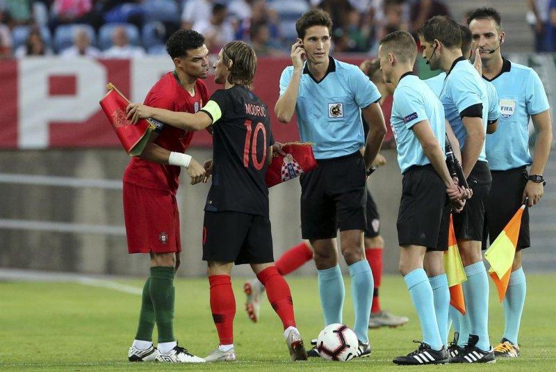 تقابل هم تیمیهای سابق رئالی در رقابتهای ملی(عکس)