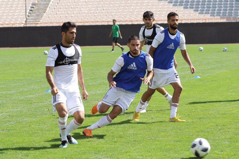 گزارش تصویری آخرین تمرین تیم ملی در تهران