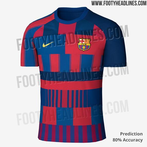 طراحی جالب لباس بعدی بارسلونا (عکس)
