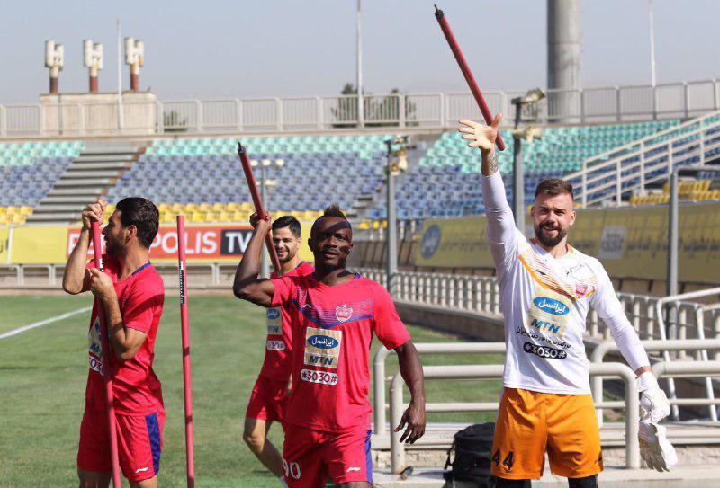 خارجی های پرسپولیس آماده المپیک توکیو! (عکس)