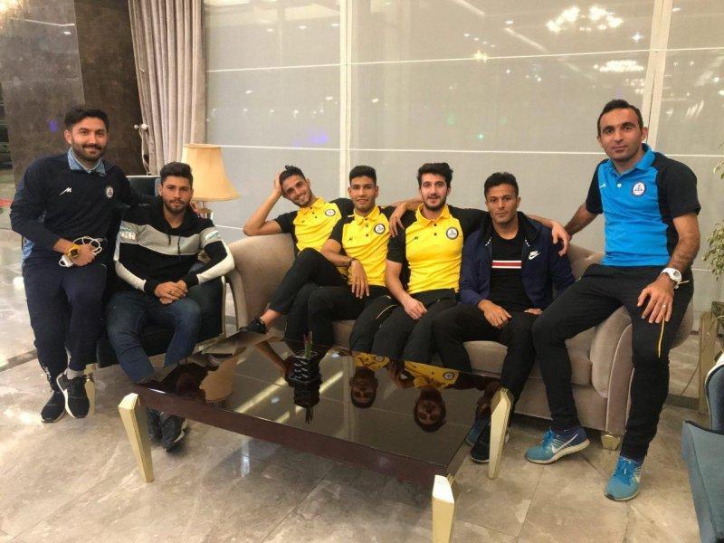 حضور بازیکنان تراکتور در اردوی پارس جنوبی(عکس)