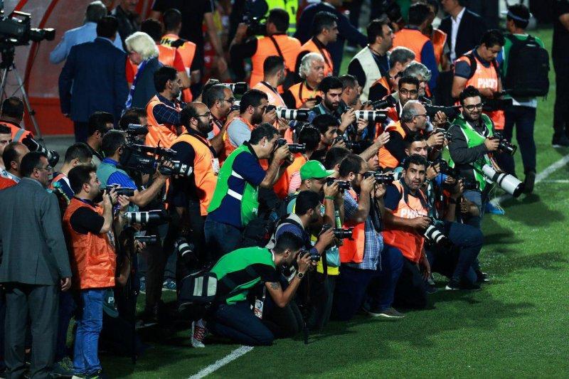 اینجا استادیوم شهید وطنی، نه سارانسک!(عکس)