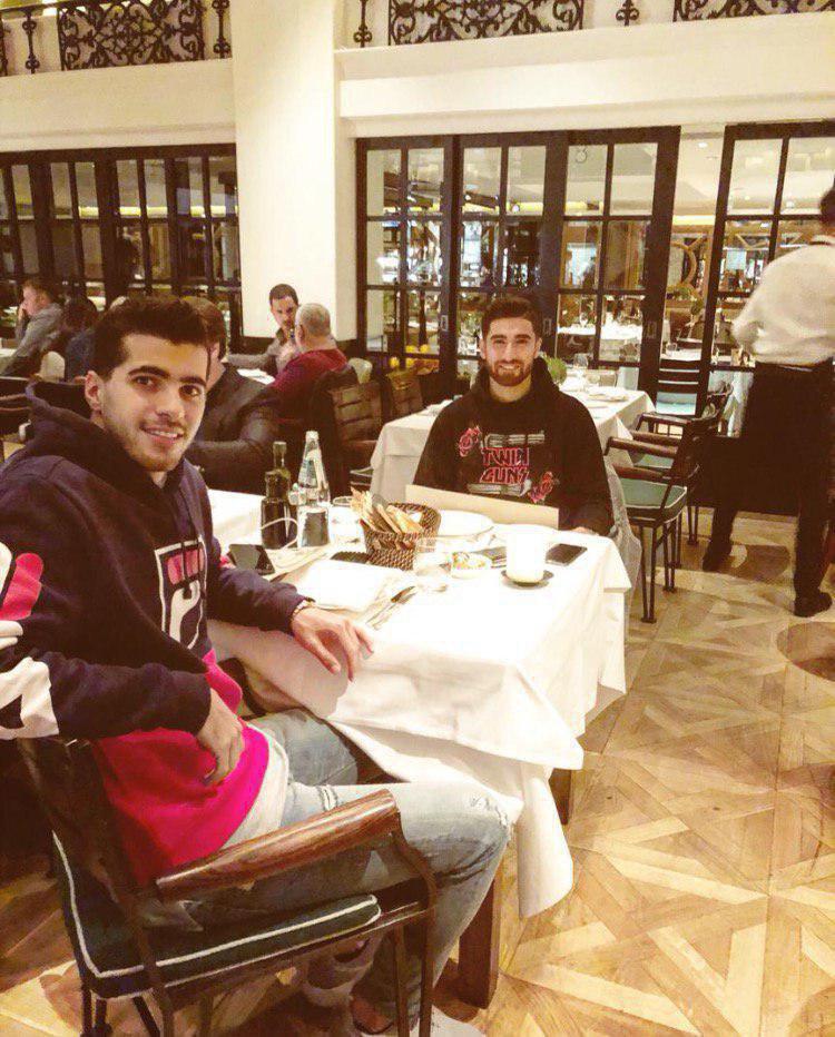 شب نشینی دو ستاره ایرانی در لندن (عکس)