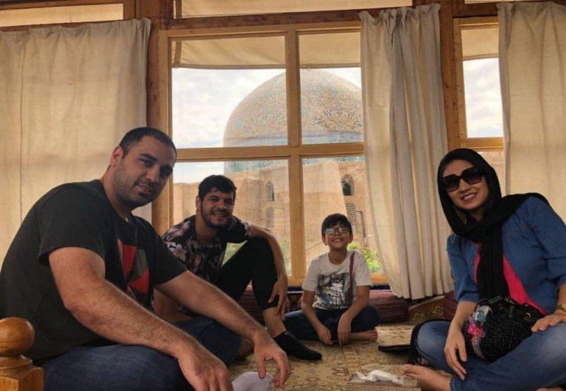 تصاویری از اصفهانگردی کیروش و خانواده!
