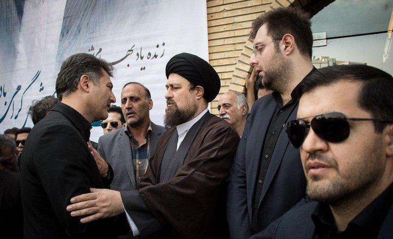 چهرههای ورزشی، سیاسی و ... در تشییع شفیع(عکس)