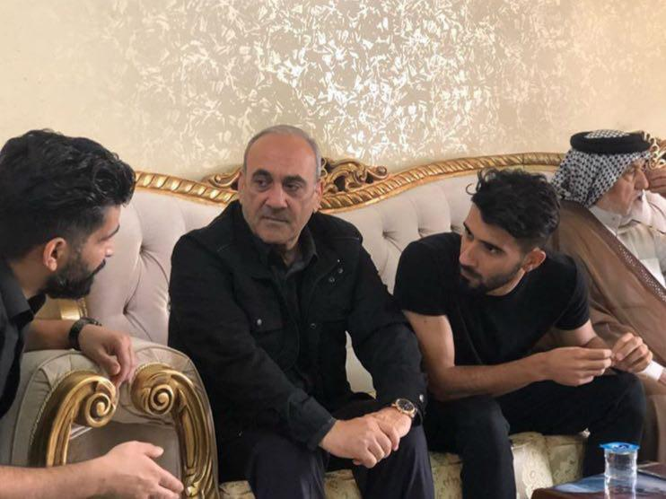 دیدار گرشاسبی با بشار رسن در بغداد (عکس)