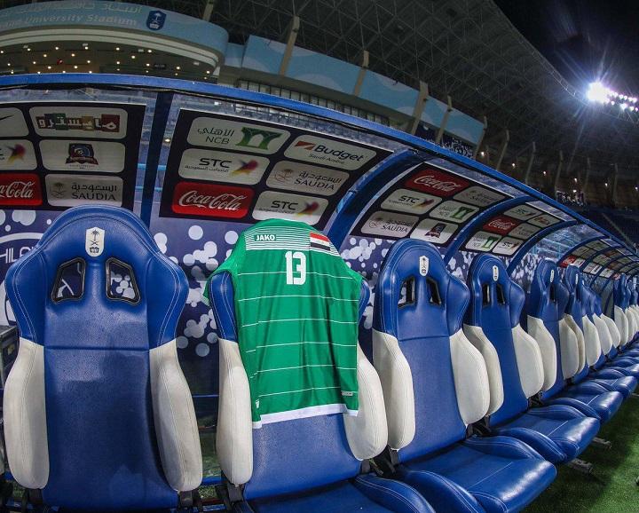 جای خالی بشار رسن در ورزشگاه ملک سعود (عکس)