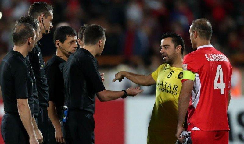 نتیجه تصویری برای ژاوی در تهران از فوتبال خداحافظی میکند
