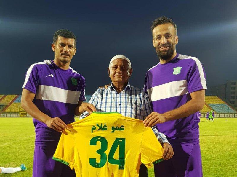 عمو غلام بازیکن جدید برزیل( عکس)