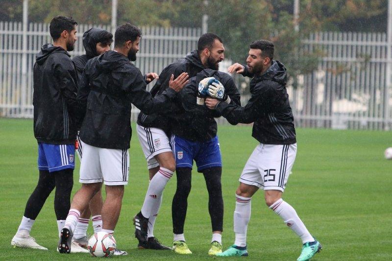 فراموشی روزهای سخت برای روزبه در تیم ملی(عکس)