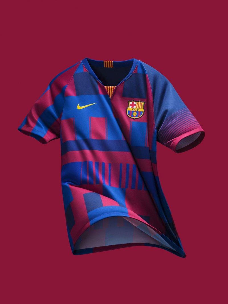 پیراهن ویژه نایکی برای سالگرد همکاری با بارسا (عکس)
