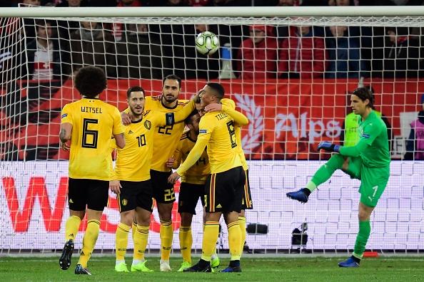 صعود رویایی سوئیسیها با برد پرگل برابر بلژیک