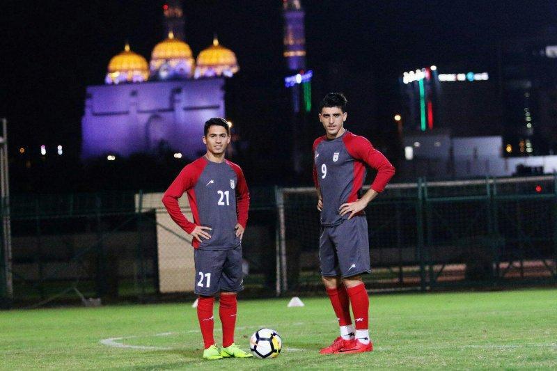 آخرین تمرین امیدها در عمان برگزار شد (عکس)