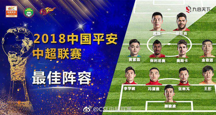 سه ستاره برزیلی در تیم منتخب لیگ چین