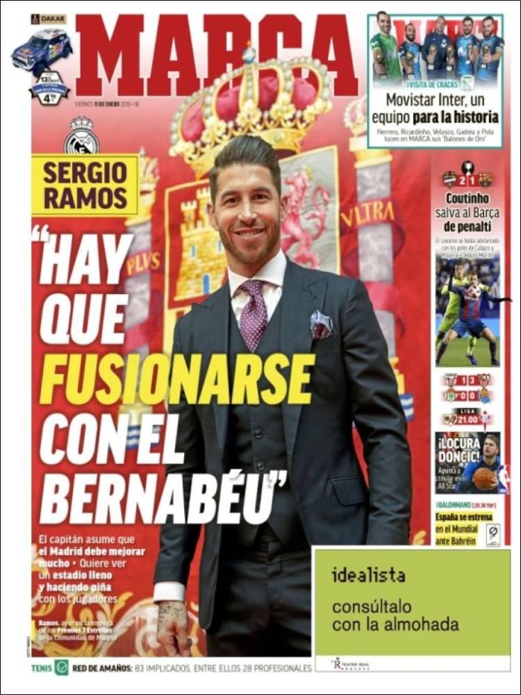 روزنامه های اسپانیا؛ گل طلایی کوتینیو (عکس)