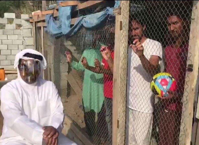 ویدئوی جنجالی و دخالت پلیس امارات (عکس)