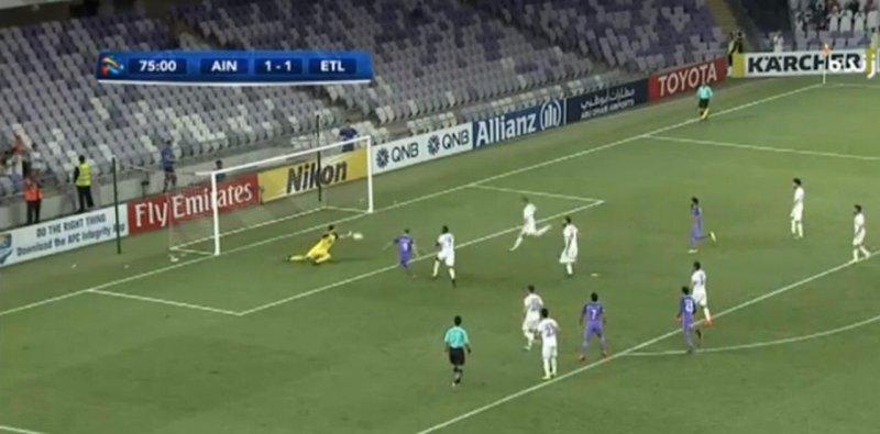 ۱۰ واکنش حیرت انگیز دروازه بانهای فوتبال ایران - 25