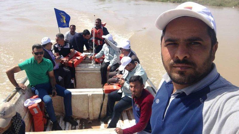 بازدید قطبی از مناطق سیل زده خوزستان (عکس)