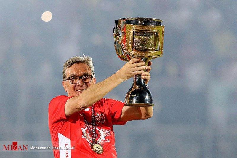 جام قهرمانی پرسپولیس - برانکو ایوانکوویچ