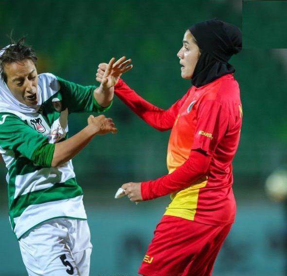زد و خورد شدید در لیگ برتر فوتبال بانوان