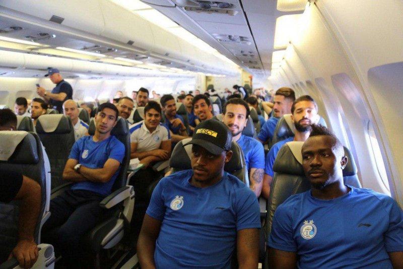 سفر بازیکنان استقلال در سفر به قهرمانان آسیا