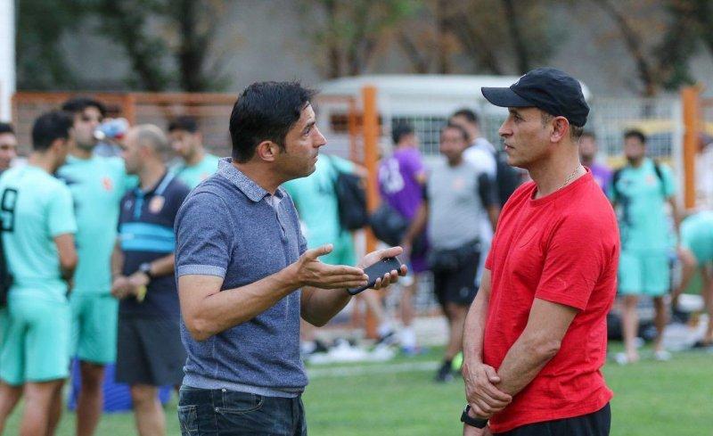 هاشمیان قبل از لیگ سراغ تیمها رفت(عکس)