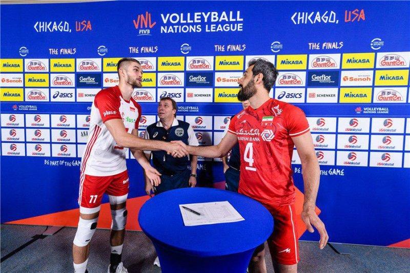 بازی ایران – لهستان در مرحله نهایی لیگ ملت ها 2019