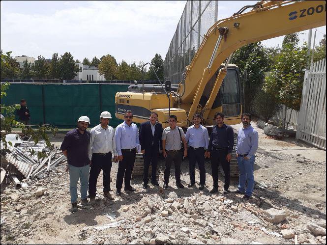 تخریب خوابگاه بانوان در کمپ تیم های ملی (عکس)