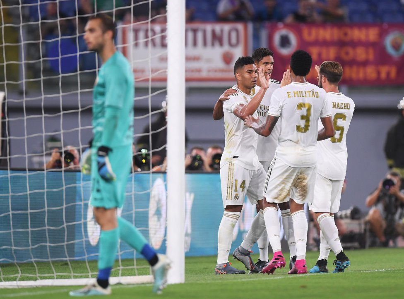 شکست رئال مادرید مقابل رم در ضربات پنالتی