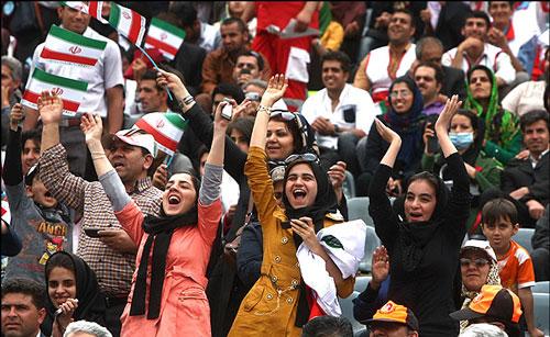 جزئیات ورود بانوان به آزادی در بازی ایران و کامبوج