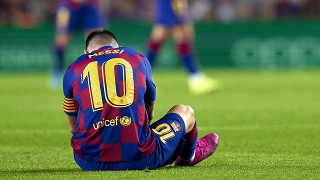 لیونل مسی، ستاره بارسلونا