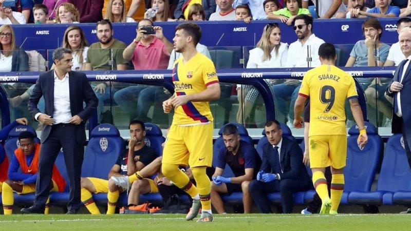 فوتبال - خلاصه بازی بارسلونا 1 - لوانته 3