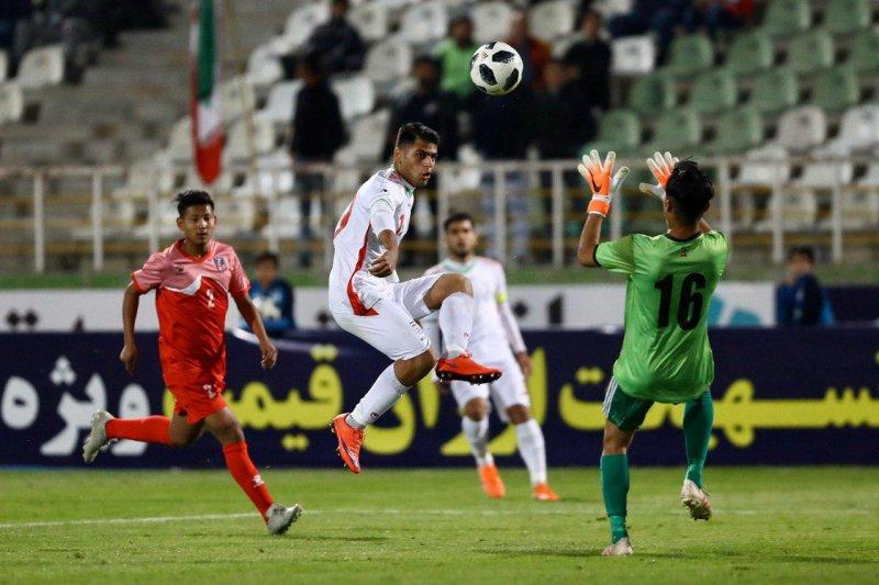 ایران 4-0نپال/ توفان پانزده دقیقهای ستارههای جوان