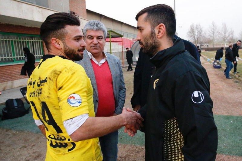 سروش-مسلمان؛ دیدار مهندسها با لباس زرد!