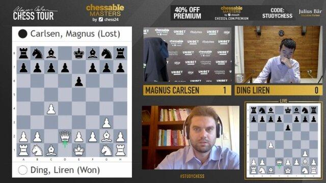 تحسین فدراسیون جهانی شطرنج از حرکت کارلسن با انتشار این عکس