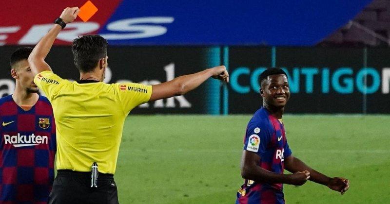 دلداری ستاره هاب بارسلونا به آنسو فاتی