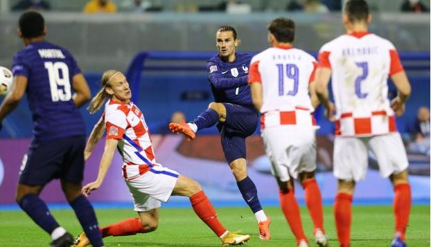 01535848 » مجله اینترنتی کوشا » کرواسی 1 - 2 فرانسه؛ حذف نایب قهرمان جهان 1