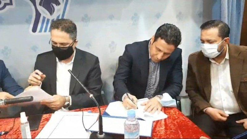 معارفه رسمی تارتار به عنوان سرمربی پیکان(عکس)