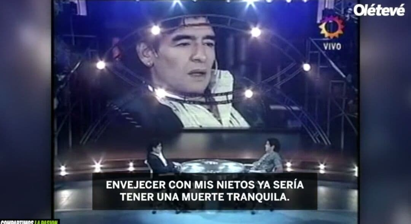 مارادونا: روی سنگ قبرم بنویسید ممنون از توپ :: ورزش سه