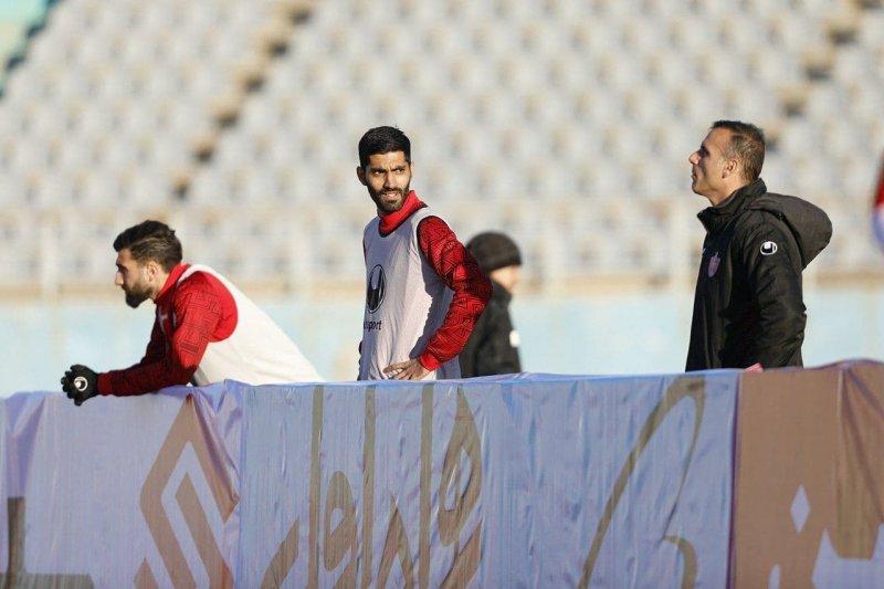 محمد انصاری در آستانه جدایی از پرسپولیس