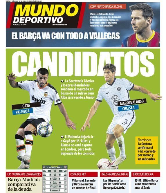 2 گزینه نهایی بارسلونا برای دفاع چپ (عکس)