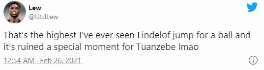 خطای لیندلوف، گل توانزابه را از چنگش درآورد