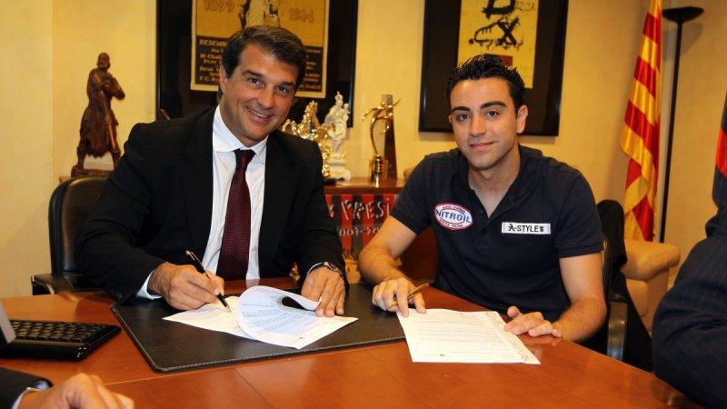 ژاوی و حمایت ویژه از رئیس جدید بارسلونا