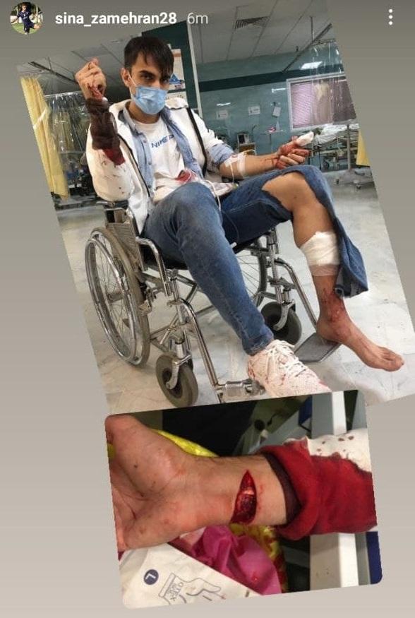 حمله عجیب به هافبک پدیده!/عکس