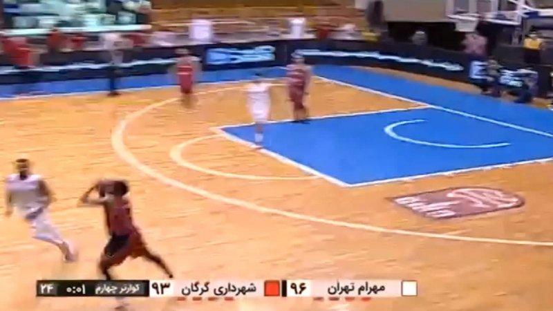 خلق یک صحنه عجیب و ماندگار در تاریخ ورزش ایران +عکس