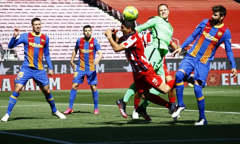 تساوی بارسلونا مقابل اتلتیکو؛ احتمالا قهرمانی در کار نیست!