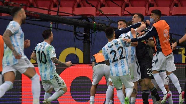پس از شکست کلمبیا در نیمهنهایی؛/ آرژانتین حریف برزیل در فینال کوپا آمهریکا