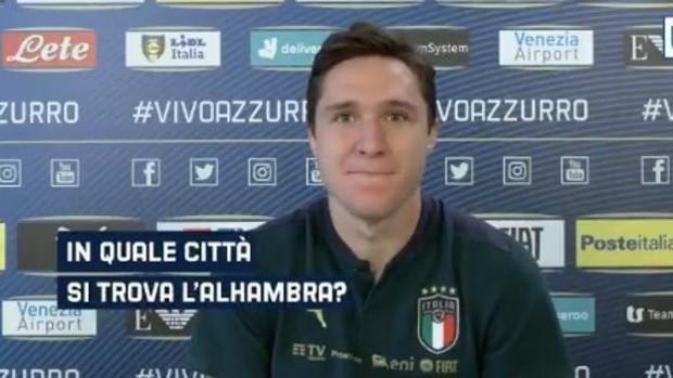 دعوت رسمی گرانادا از ستاره ایتالیا در یورو 2020